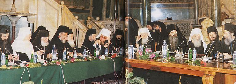All-Orthodoxe Versammlung, Sofia 1.10.1998