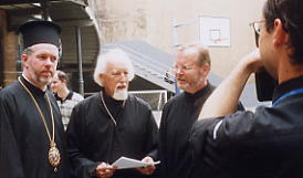 Bishop-Son ATHENAGORAS and Father-Father IGNACE Peckstadt and the author-deacon STEFAN
